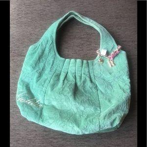 Limited Goldie Velvety Handbag.